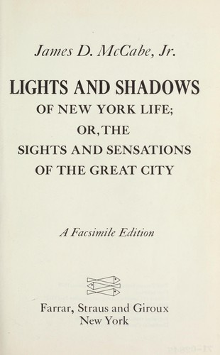Download Lights and shadows of New York life