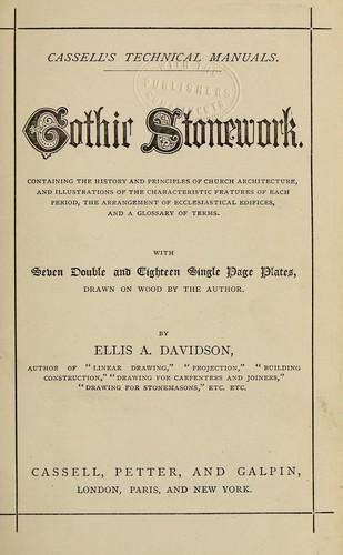 Download Gothic stonework.