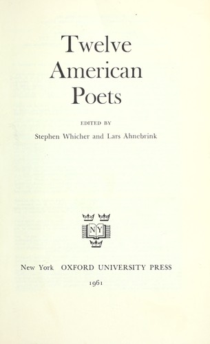 Twelve American poets