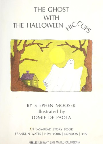 The ghost with the Halloween hiccups