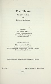 The library; an introduction for library assistants PDF