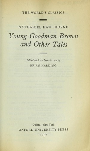 Download Young Goodman Brown and other tales