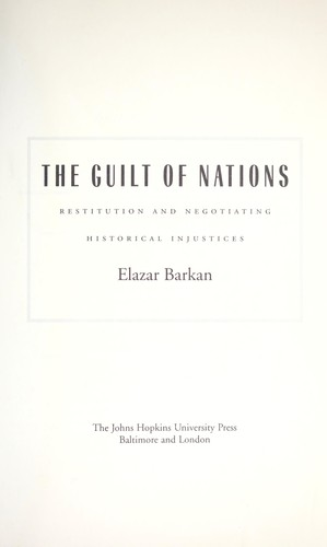 Download The guilt of nations