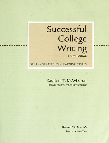 Download Successful college writing