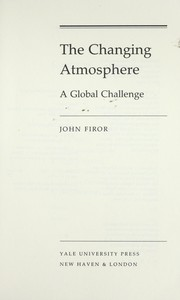 Changing atmosphere PDF