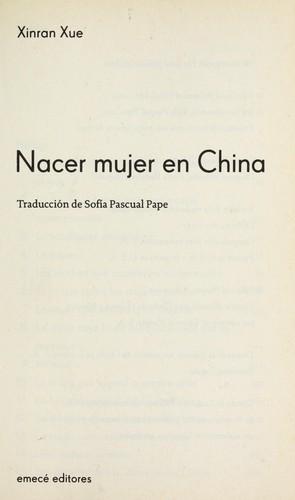 Download Nacer mujer en China