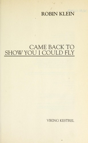 Download Came back to show you I could fly