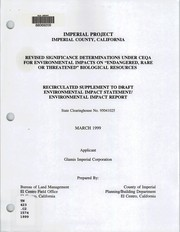Imperial Project PDF