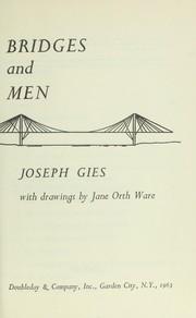 Bridges and men PDF
