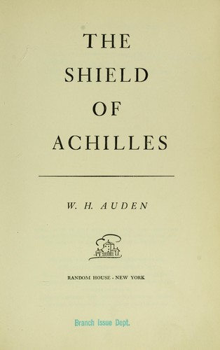 The shield of Achilles.