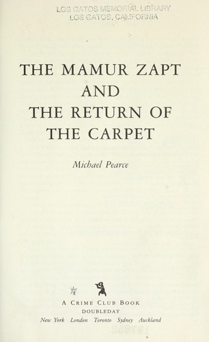 Download The Mamur Zapt and the return of the carpet