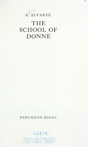 Download The school of Donne.
