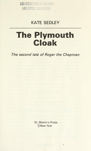 Download The Plymouth cloak