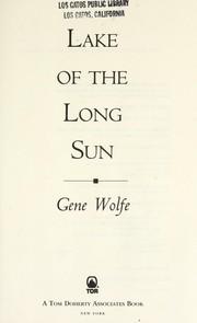 Lake of the long sun PDF