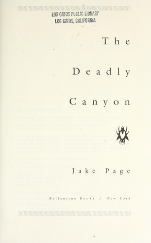 Download The deadly canyon