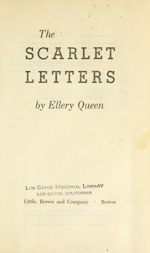 Download The scarlet letters.