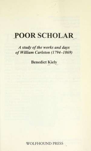 Download Poor scholar