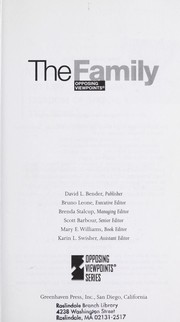 The Family : opposing viewpoints PDF