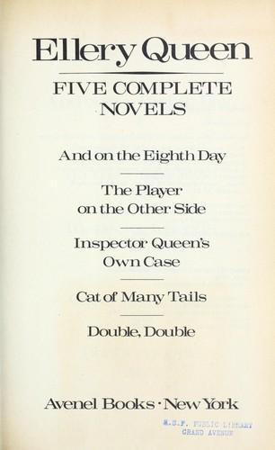 Download Ellery Queen, five complete novels.