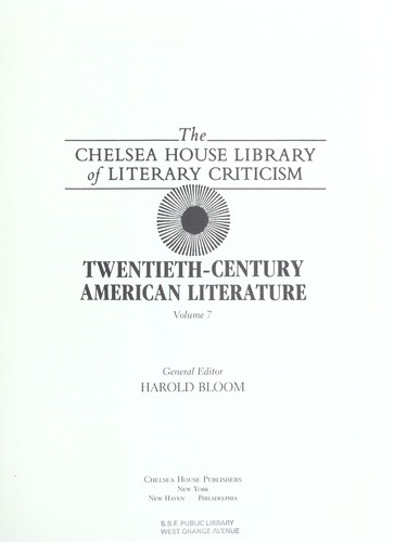 Download Twentieth Century American Literature
