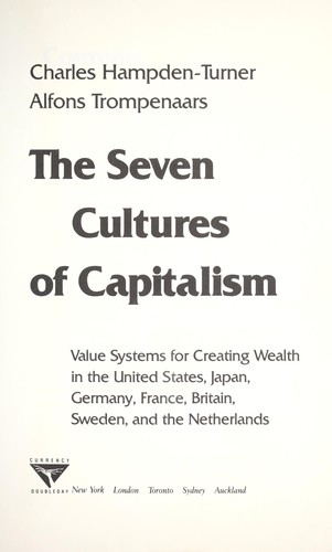 Download The seven cultures of capitalism