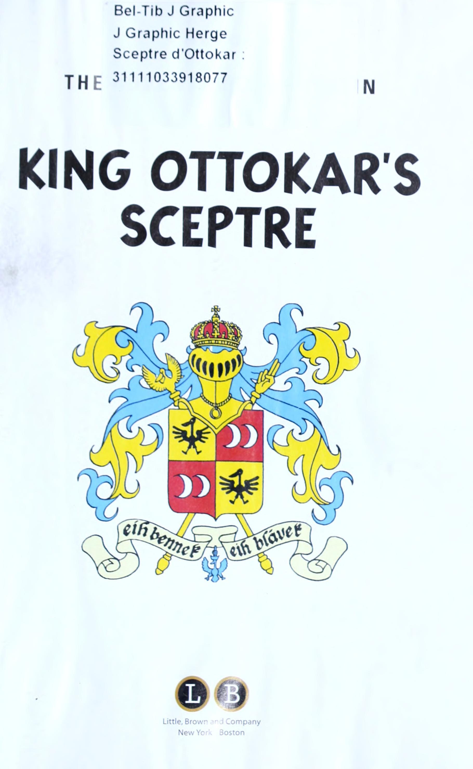 Tintin King Ottokars Sceptre Pdf