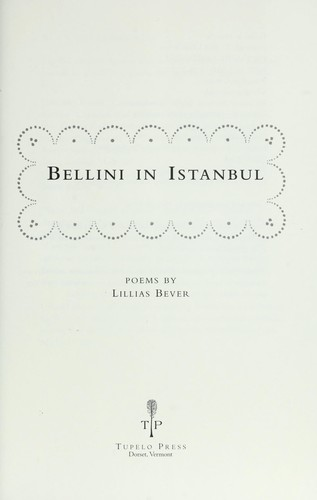 Download Bellini in Istanbul