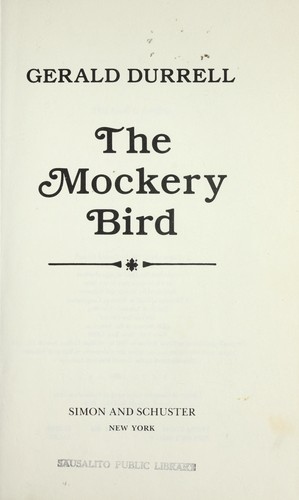 The mockery bird