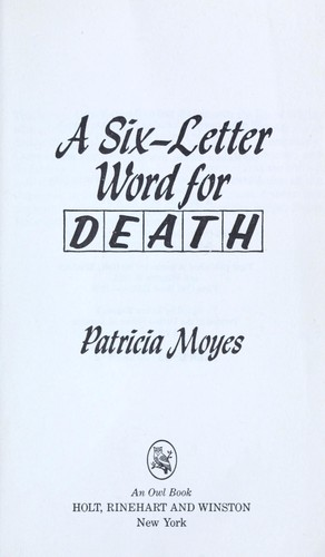Download Six Letter Word for Death
