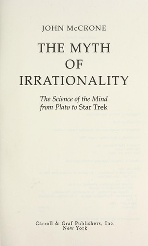 Download The myth of irrationality