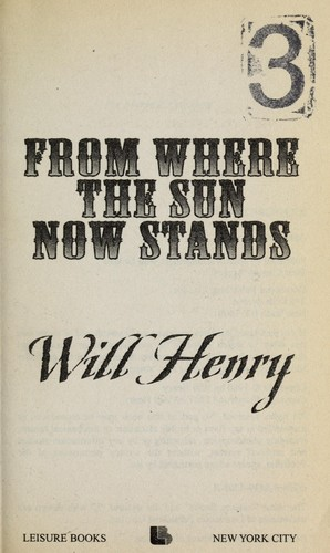 Download From where the sun now stands