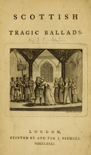 Download Scottish tragic ballads.