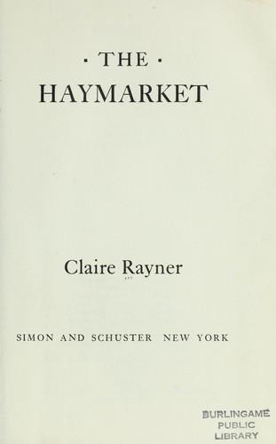 The Haymarket.