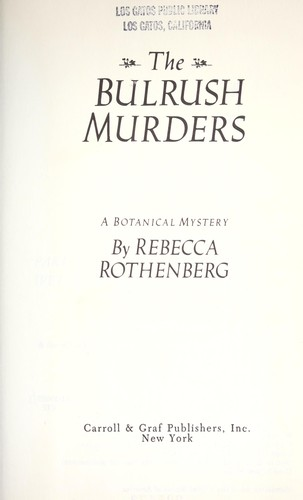 The bulrush murders