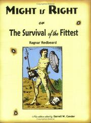Might is right, or, The survival of the fittest PDF