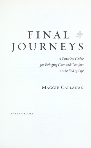 Download Final journeys