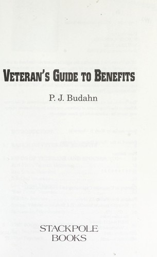 Download Veteran's guide to benefits