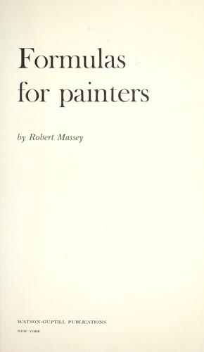 Download Formulas for painters.