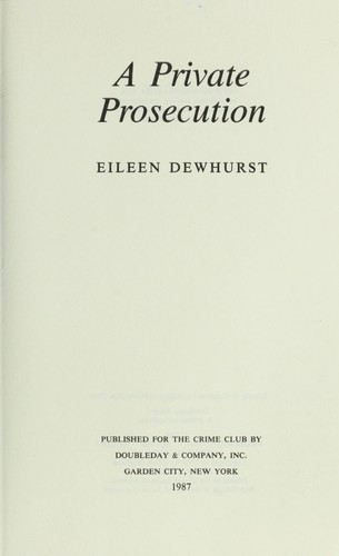 A private prosecution