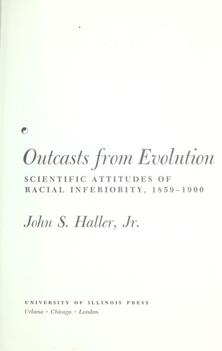 Outcasts from evolution