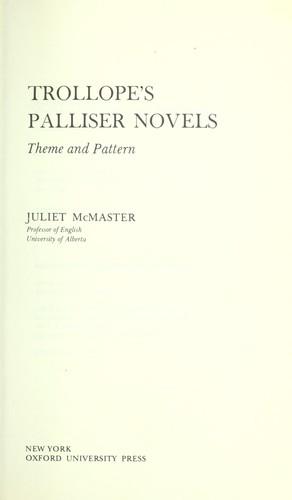 Download Trollope's Palliser novels