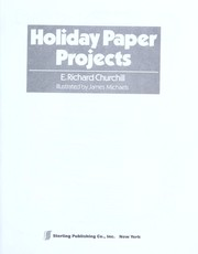 Holiday paper projects PDF