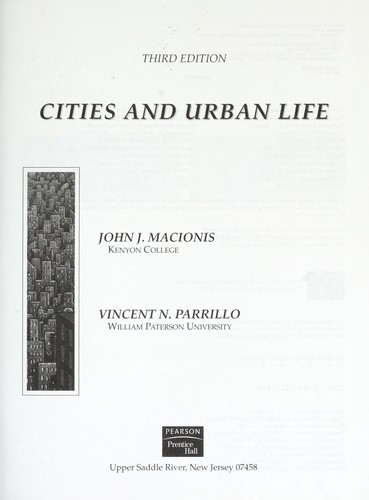 Download Cities and urban life