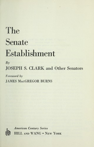 Download The Senate establishment