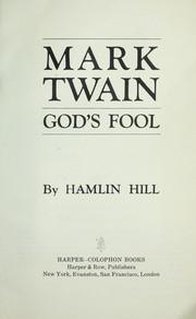 Mark Twain : God's fool PDF
