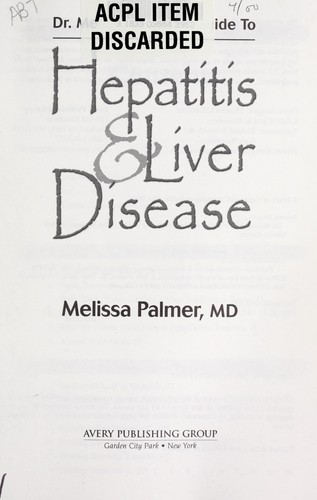 Download Dr. Melissa Palmer's guide to hepatitis & liver disease