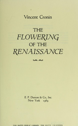Download The flowering of the Renaissance.