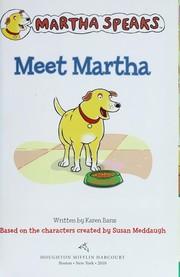 Meet Martha PDF