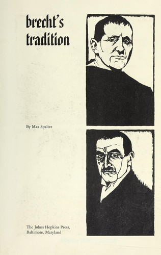 Brecht's tradition.