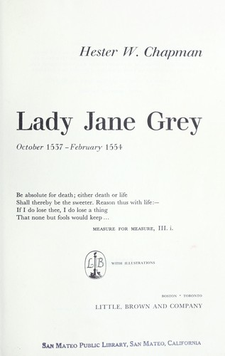 Download Lady Jane Grey